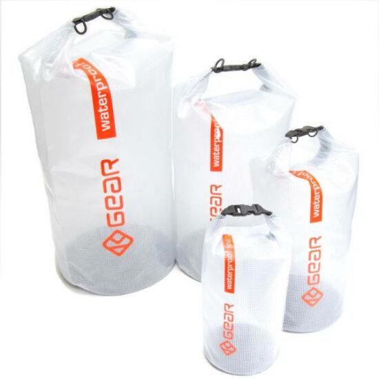 K-Gear vízhatlan zsák 8 l víztiszta