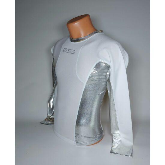 Nelo Long Sleeve white/silver XS