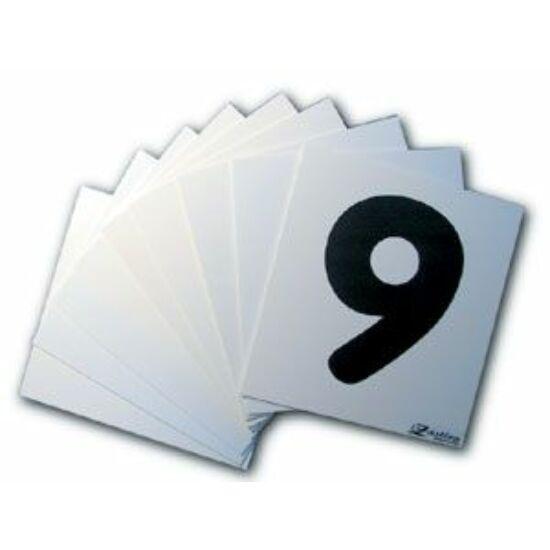 Zastera Number Plate Set 1-9